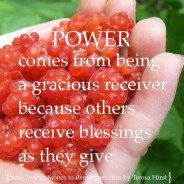 Graciously Receive