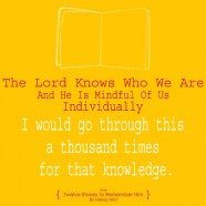He Knows Who We Are