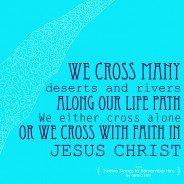 Crossing with Faith
