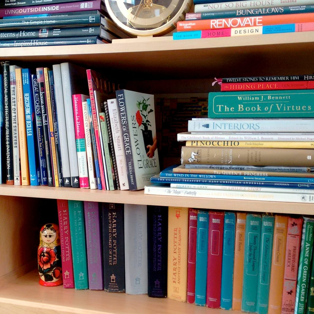 Teresa Hirst's Book Shelf